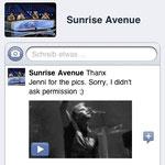 Sunrise Avenue: Xmas Video 2012 mit meinen Fotos