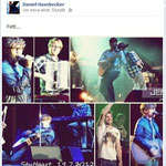 Daniel Hassbecker.Tim-Bendzko-Band. Facebook. 22.7.2012