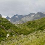 Noch einmal ein Blick zurück auf die Franz-Senn Hütte