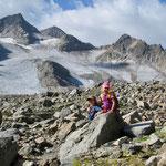 Ohne Pause bis an den Schmelzsee unterm Gletscher