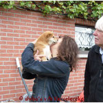 Pauline en Ferry verwelkomen Voske