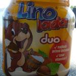 Ha ha ha Lino kann man auch ESSEN!!!