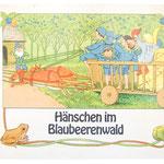 Elsa Beskow - Hänschen im Blaubeerenwald