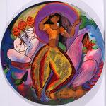 Laksha - wood - 2012 - Linda Le Kinff