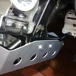 XL700V Motorschutz SW-Motech Unterfahrschutz Skid Plate