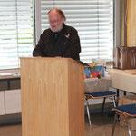 Gerhard bei seiner Ansprache