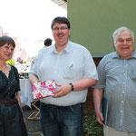 Getrude Almquist-Bois, Markus Holzmann, Manfred Schmidt (v.l.n.r)
