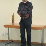 Wolfgang Greiner als Vertreter des Verbandes der Philatelistenvereine