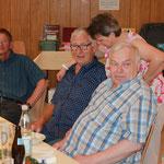 Manfred, Heike und Manfred, was man da wohl zu besprechen hat?