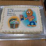 Eine Torte zum Geburtstag