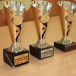 Pokale für die besten Gruppen