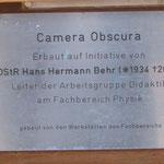 Die Erbauer der Camera Obscura