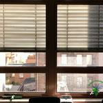 Vorher, Nacher, Meixner Fensterputzer Bürofenster