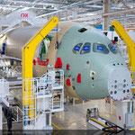 Fertigung des A350 XWB [Quelle: Airbus].