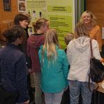 Infotisch in der Station Natur und Umwelt in Wuppertal