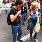 Demo gegen TTIP in Düsseldorf