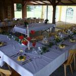 Tische in weiss
