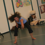 Tanztherapie,Ausbildung,Tanztherapeutin,Malen,