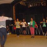 Vorführung Ballett