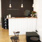 Sitzecke mit Kaffebar