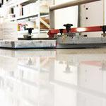 Professioneller Andrucktisch mit Vakuumfunktion