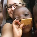 Kekse mit Maria, Diana und Shifula