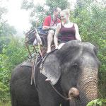 Elefanten-Trekking auf Koh Chang