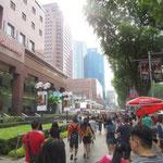 Orchard Road zum Shopping