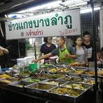 Leckere Garküchen in der Khao San Road