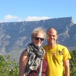 Blick vom Signal Hill (Kapstadt) zum Tafelberg