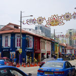 Strasse in Little India