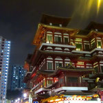 Buddhistischer Tempel in Chinatown