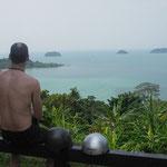 Ausblick auf kleine Nachbarinseln von Koh Chang