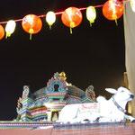 Auch in Chinatown findet man viele hinduistische Tempel.