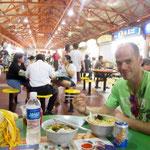 Food Market in Little India (dieser Food Market ist bei unserem Hostel um's Eck und hat sehr viele Leckereien zu bieten)