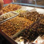 Insekten als Snacks