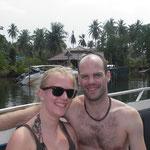 Ankunft mit dem Speed Boat auf Koh Kut