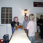 An da Bar was los