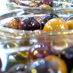 Oliven: selbst eingelegt