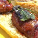 Chorizo: auf der Plancha gegrillt