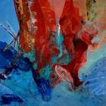 Ohne Titel 2, 2020, Acryl auf Leinwand, 40 x 40 cm