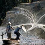 Vietnam - Secuencia de Pescadores