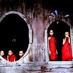 Myanmar - Monasterio de Teca