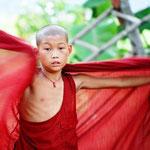 Myanmar - Monje Budista