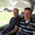 auf der Fahrt nach Vorarlberg