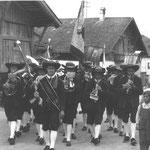 1970 ca Prozession Oberdorf Kplm Falgschlunger Alois