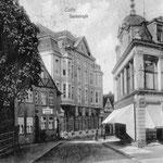 """""""Am Rosengarten"""", ehemals """"Sackstraße"""", führt auf den Voß-Platz"""