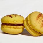 Macaron Pêche basilic