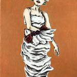 A cake dressⅣ 2016  41×24.2cm