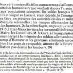 Texte écrit par J.M Bourdette suite aux commémoration du 22/10/1984